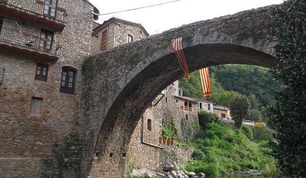 Control arqueològic al Pont Vell d'Osor (la Selva)