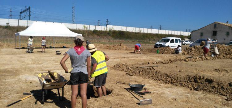 Descobertes quatre sitges ibèriques a Can Serra, a Vilobí d'Onyar