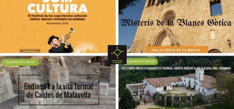 Novembre 2016. Noves activitats dins el Festival Som Cultura
