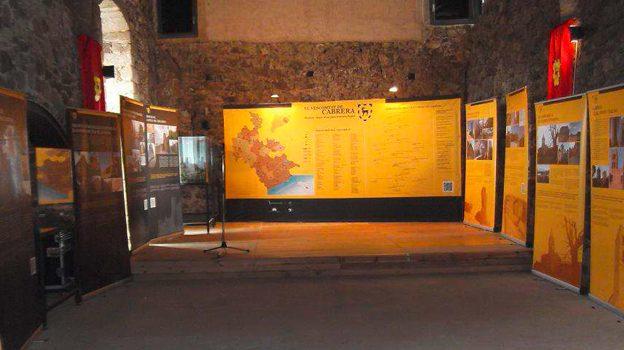"""Exposició """"El Vescomtat de Cabrera. Història i llegat d'una gran senyoria feudal""""."""