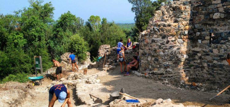 Novetats arqueològiques al Castell de Sant Iscle de Vidreres. Campanya 2019